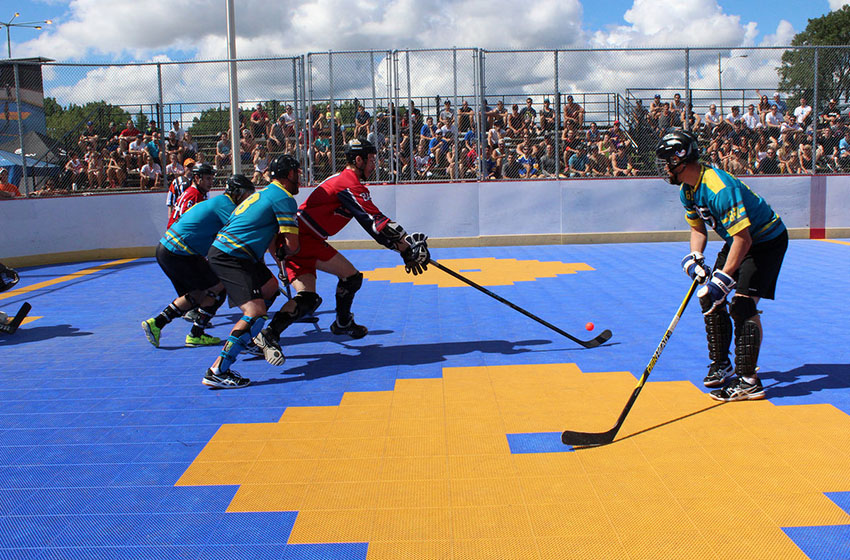 Dek Hockey - Bannière hockey