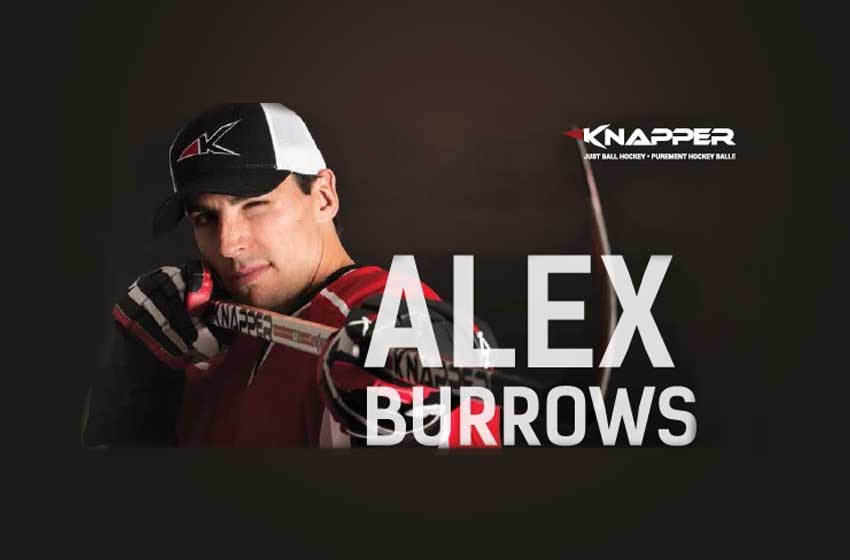 knapper Alex Burrows bannière