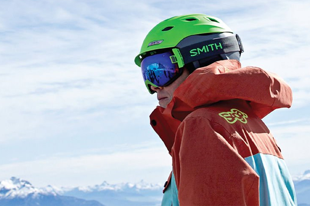 Bannière ski alpin - sport d'hiver 2