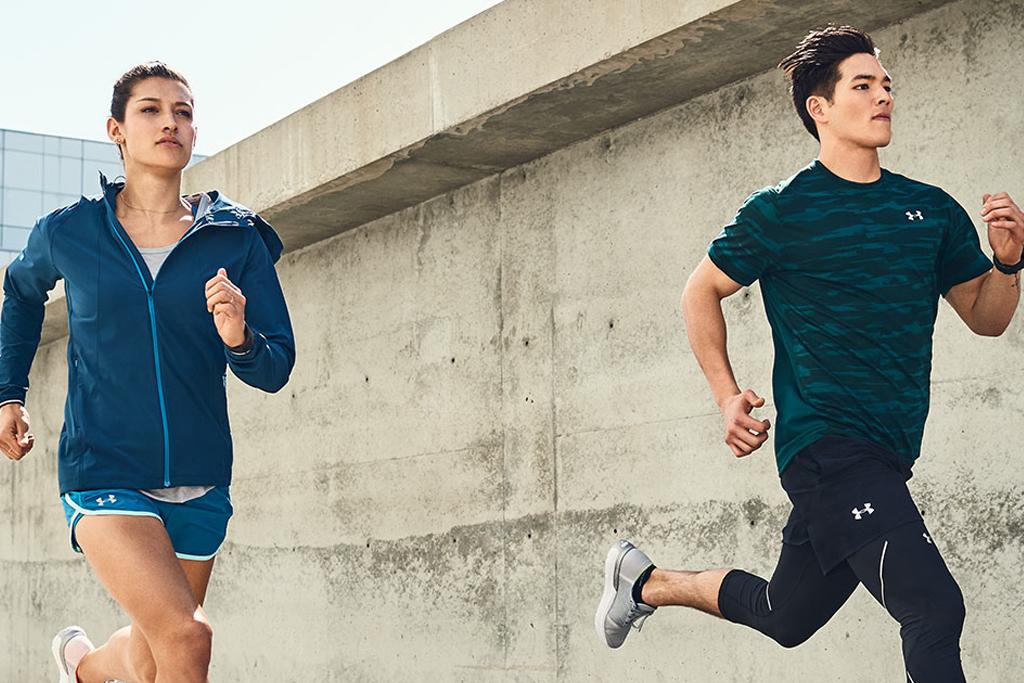 Vêtements sports hommes et femmes under armour