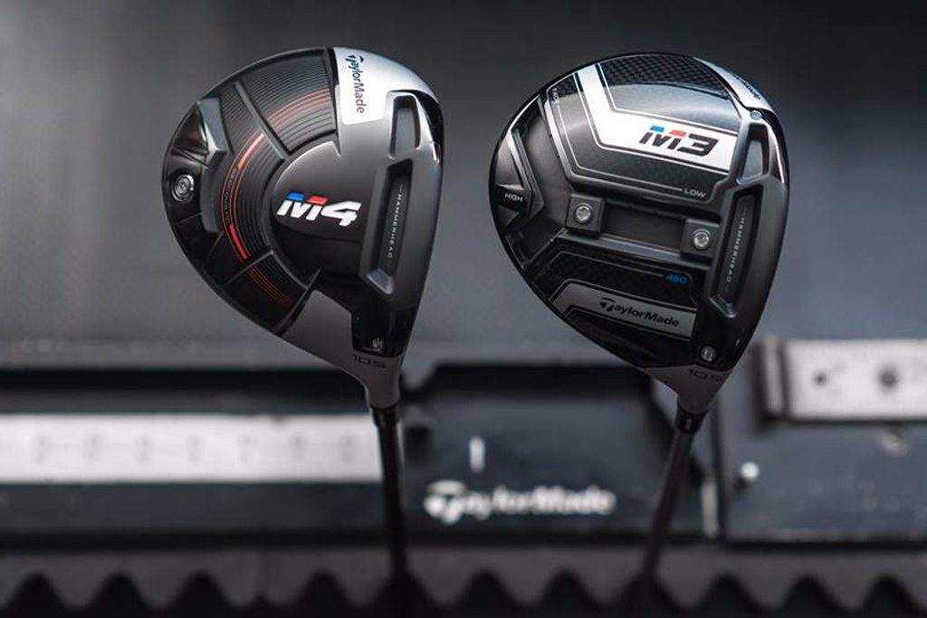Equipement golf 2018 Taylormade M4 & M3